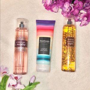 BBW Fine Fragrance Mist Bundle 💐